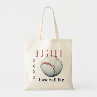 Boston Baseball Fan Tote Bag