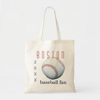 Boston Baseball Fan Tote Bag