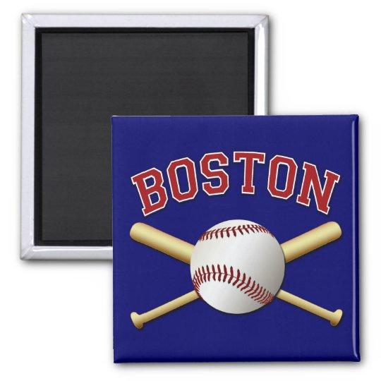 BOSTON BASEBALL MAGNET