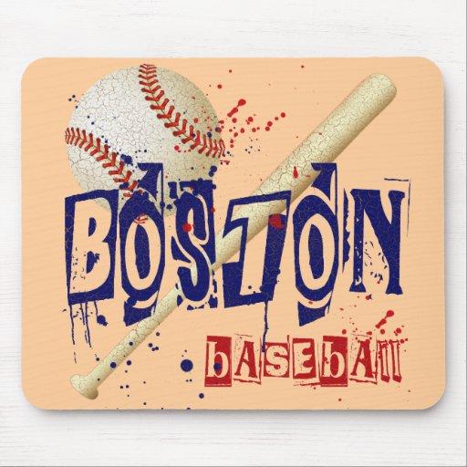 BOSTON BASEBALL MOUSE PAD