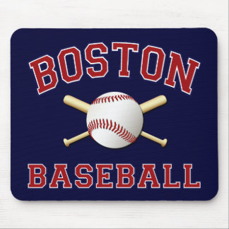 BOSTON BASEBALL MOUSE PAD