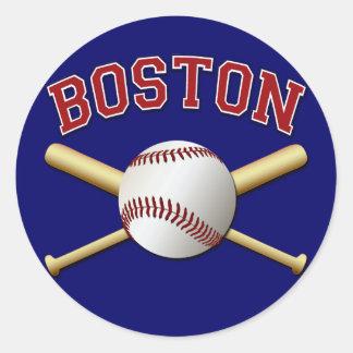 BOSTON BASEBALL STICKERS