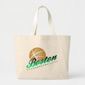 Boston Basketball Jumbo Tote Bag