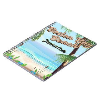 Boston bay beach, Jamaica Notebook