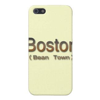 Boston (Bean Town) brn iPhone SE/5/5s Case