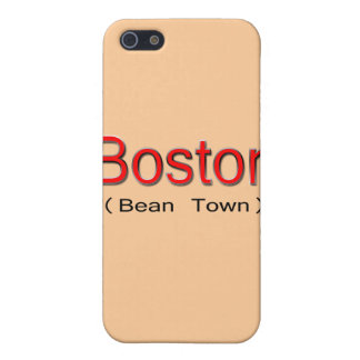 Boston (Bean Town) red iPhone SE/5/5s Cover