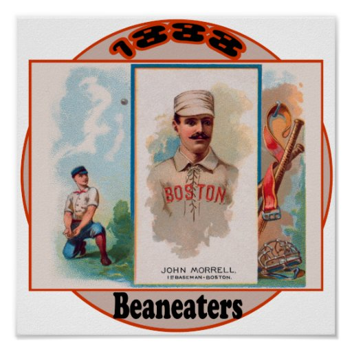 Boston Beaneaters Póster