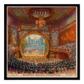 Boston Bijou Theatre Invitation