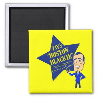 Boston Blackie 2 Inch Square Magnet