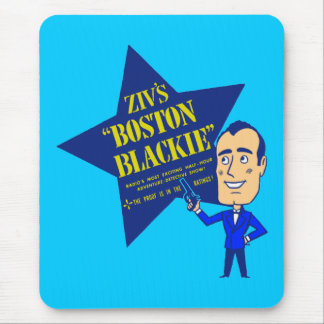 Boston Blackie Mouse Pad