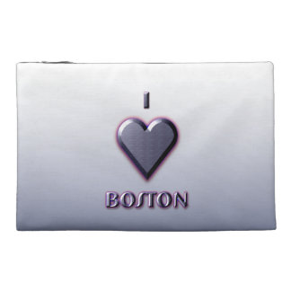 Boston -- Blue with glow Travel Accessory Bag