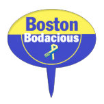Boston Bodacious Cake Topper