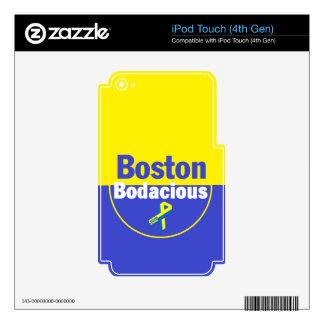 Boston Bodacious iPod Touch 4G Skin