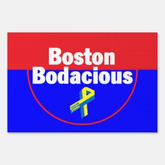 Boston Bodacious Lawn Sign