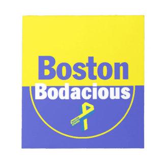 Boston Bodacious Notepad