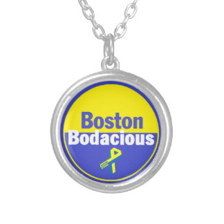 Boston Bodacious Silver Plated Necklace