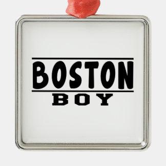 Boston Boy Designs Christmas Ornaments