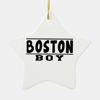 Boston Boy Designs Christmas Tree Ornaments
