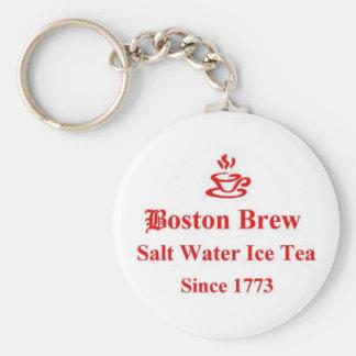 Boston Brew Key Chain
