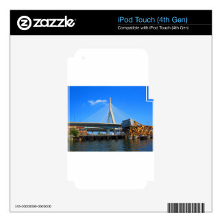 Boston Bridge Photo on gifts iPod Touch 4G Decals