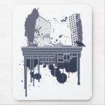 Boston Brutal (blue version) Mouse Pad