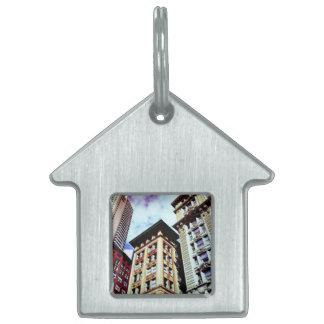 Boston Buildings Pet ID Tag