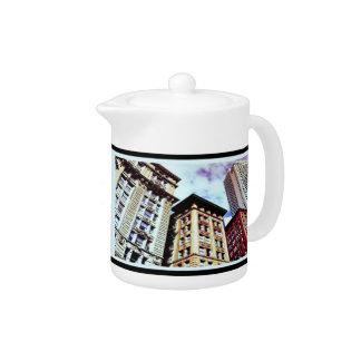 Boston Buildings Teapot