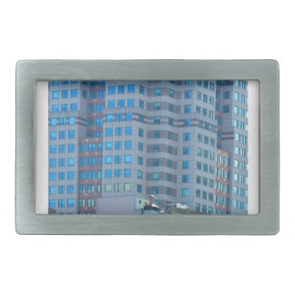 BOSTON Buildings Towers Architecture Belt Buckle
