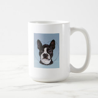 Boston Bull Dog Art Coffee Mug