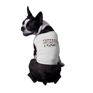 BOSTON BULL Sized RESCUE DOG T SHIRT