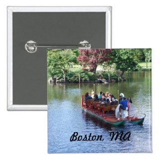 Boston Pinback Button