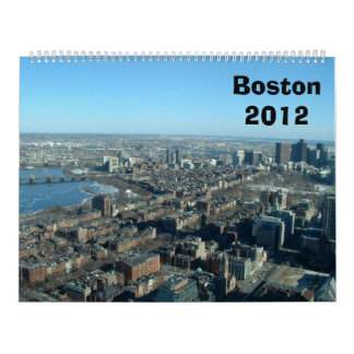 Boston Calendar 2012