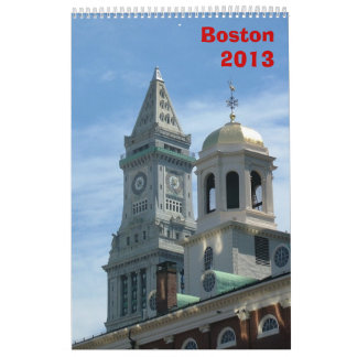 Boston Calendar - 2013