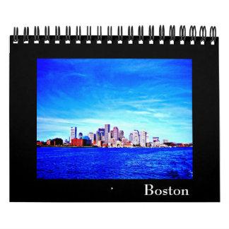 Boston Calendario-Moderna Photography-1 Calendario De Pared