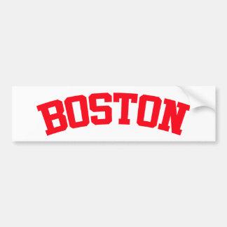 BOSTON CAR BUMPER STICKER