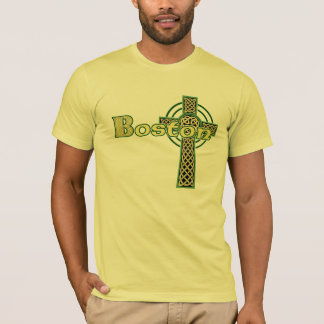 Boston Celtic Cross T-Shirt