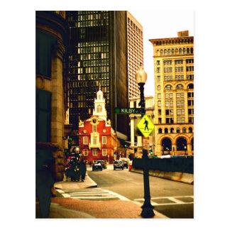 Boston céntrica en la calle de Kilby Postal