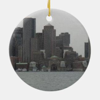 BOSTON CERAMIC ORNAMENT