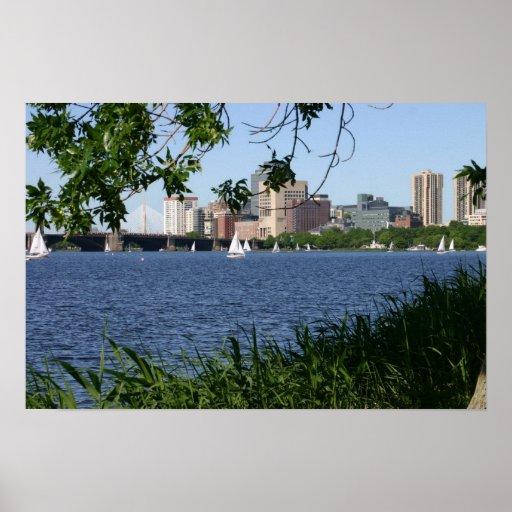 Boston Charles River Posters