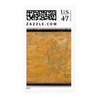 Boston, Charlestown, Cambridge, Massachusetts Sello Postal