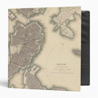 "Boston, Charlestown, Roxbury Carpeta 1 1/2"""