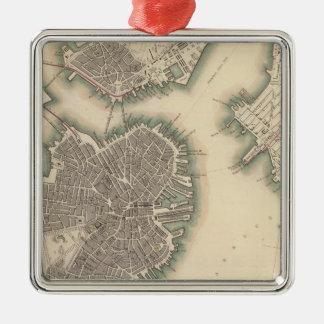 Boston, Charlestown, Roxbury Christmas Ornament