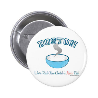 Boston Chowder War Pin