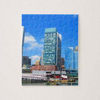 Boston City Buildings n Urban Landscape Puzzle