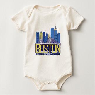 Boston City Colors Baby Bodysuit