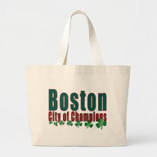 Boston City of Champions Canvas Bags