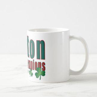 Boston City of Champions Coffee Mug