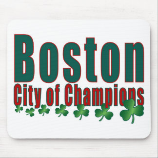 Boston City of Champions Mouse Pad