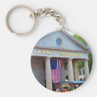 BOSTON City QUENCY Market Bus Tour views Keychain