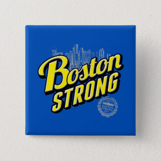Boston City Strong Remembers Decor Pinback Button